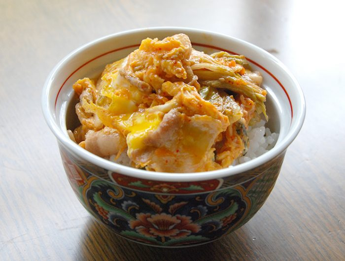 豚玉キムチ丼