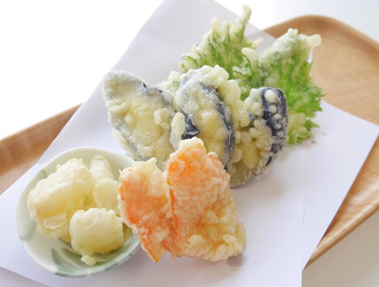 お漬物の天ぷら