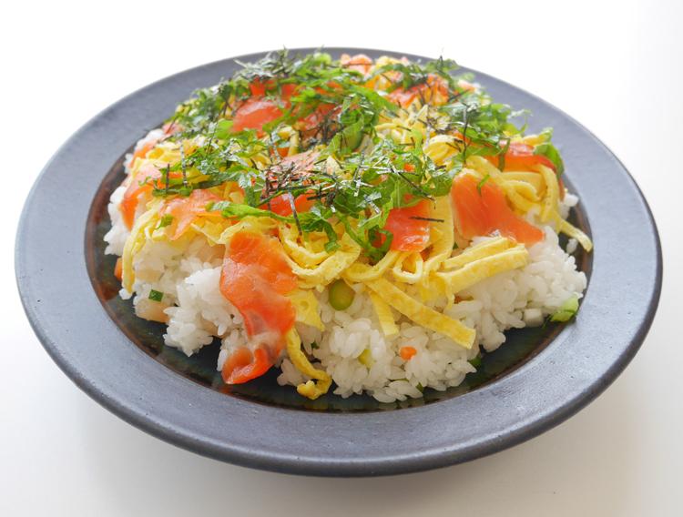 漬物ちらし寿司
