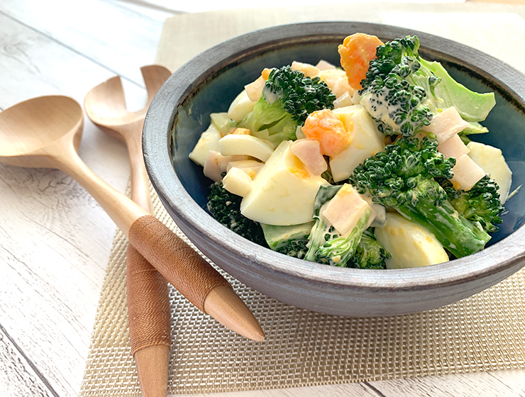 【雲太で】ブロッコリーと卵と雲太のサラダ