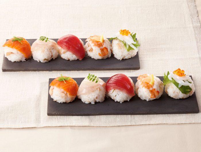 【漬物すしのもとで】彩りてまり寿司