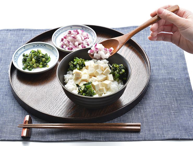 津田かぶ豆腐どんぶり
