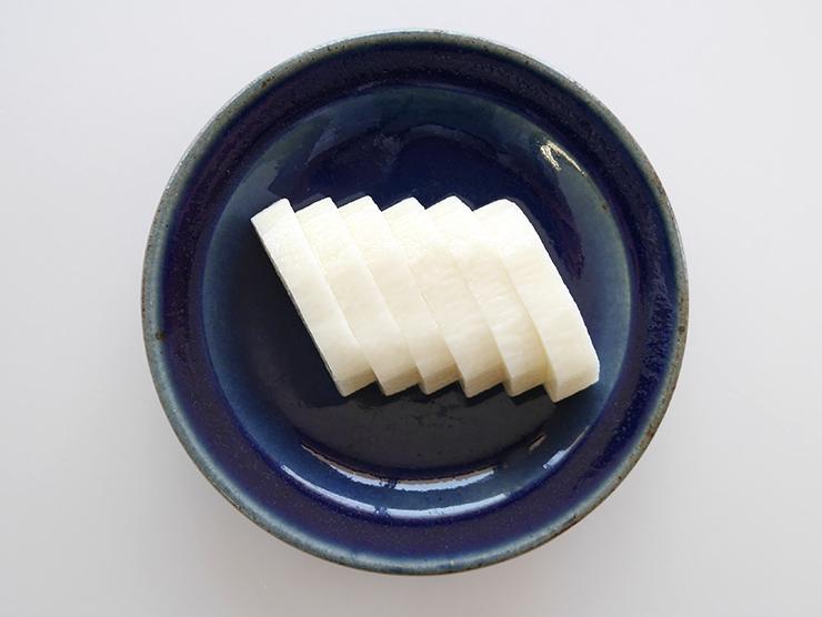 サクサク長芋浅漬皿盛り