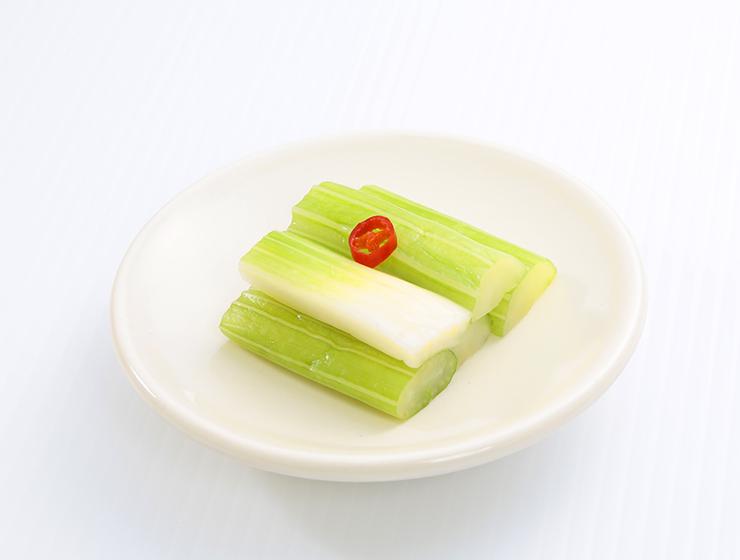 セロリ―浅漬皿盛り