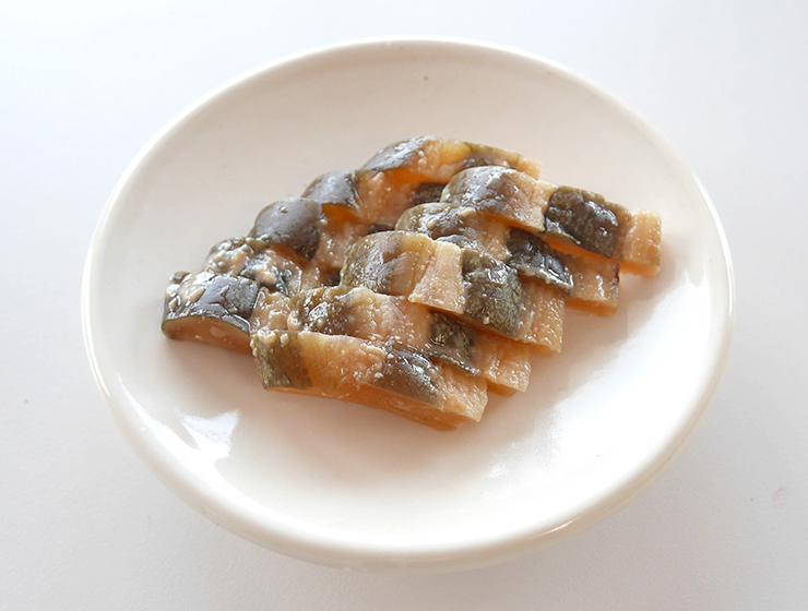 メロンの粕漬皿盛り