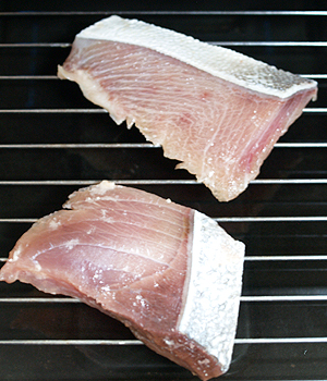 ぶりの粕漬の焼き方