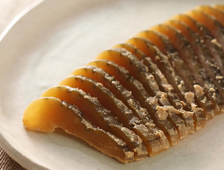 青しま瓜の粕漬