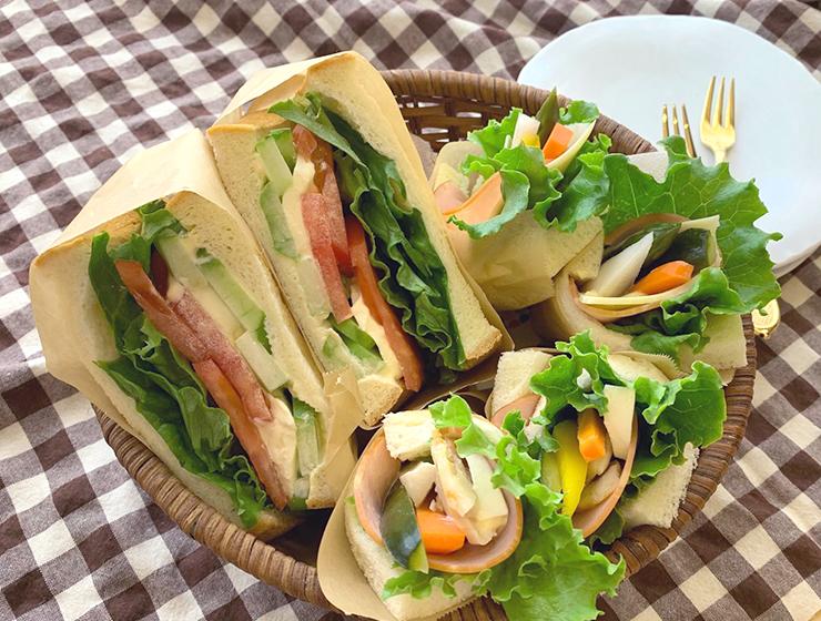 【ピクルス】【瓜浅漬】サンドイッチ